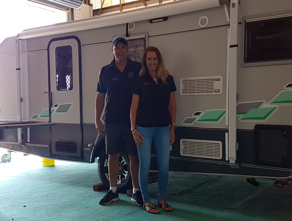 Adam & Tracy - Owners & Operators - Mandurah - Foreshore Caravan Repairs